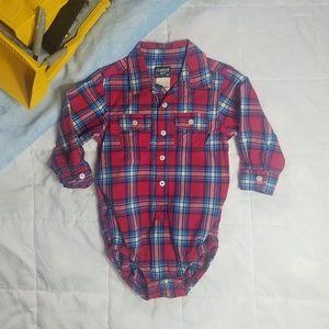 Oshkosh B'Gosh Baby Boys Button Down Shirt Plaid